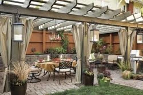 garden design with backyard patio ideas backyard deck and patio ideas with pergola with landscape borders