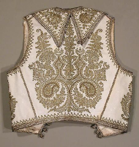 Ottoman Embroidered Childs Vest