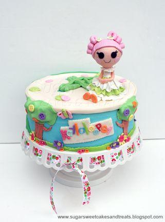 Sugar Sweet Cakes and Treats: Lalaloopsy Cake & Cake Pops (tutorial)