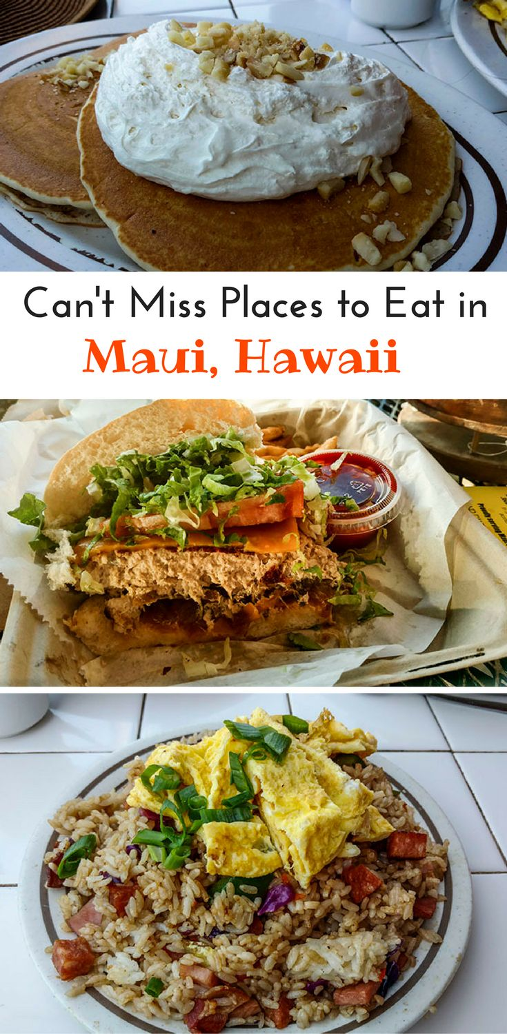 Local food in Hawaii is a must eat when you come to the islands. Bring your appetite and an empty stomach wherever you go!