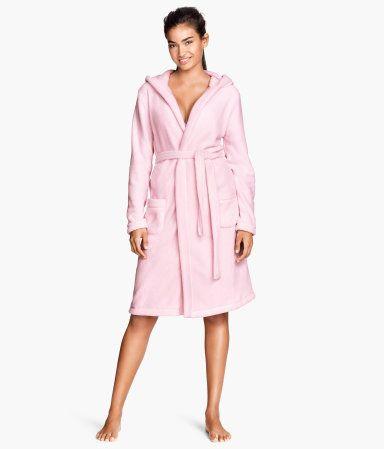 H&M Fleece dressing gown € 29,99
