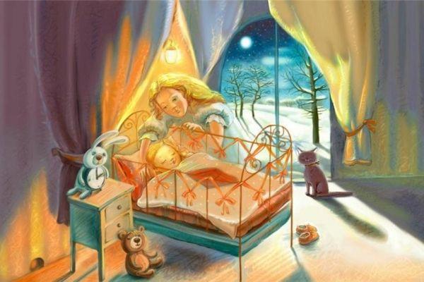 Добрые сказки на ночь. Скачать бесплатно | Baby journal