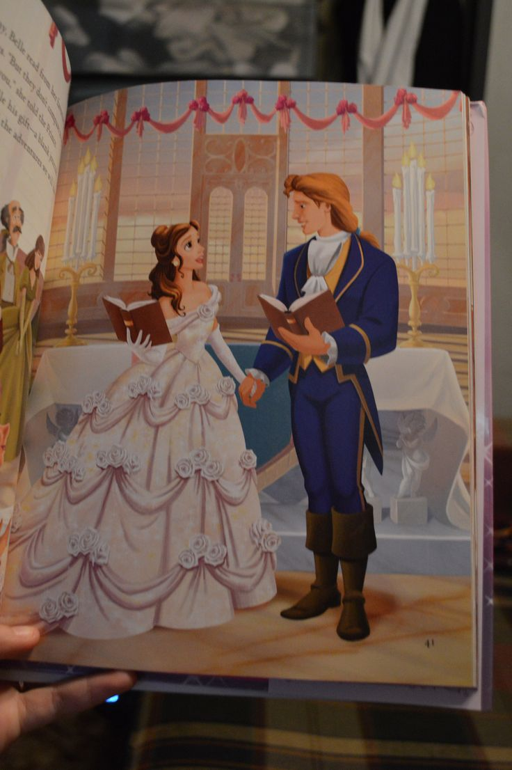 Disney princess forever after beauty and the beast for Wedding dress like belle from beauty and the beast