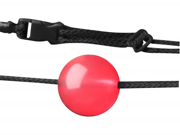 Submitting to desire is what Frisky is all about. With the Apprentice Ball Gag you will find yourself sweetly hindered and supremely teased. This comfortable gag features a quick-release clasp, adjustable nylon straps, and a suitably sized Thermoplastic Rubber TPR ball for the mouth. The Apprentice is great for beginners and their partners learning to love the sounds of subdued pleasure. Measurements Ball is 1.91 inches in diameter. Straps adjust from approximately 15.5 inches to 25 inches…