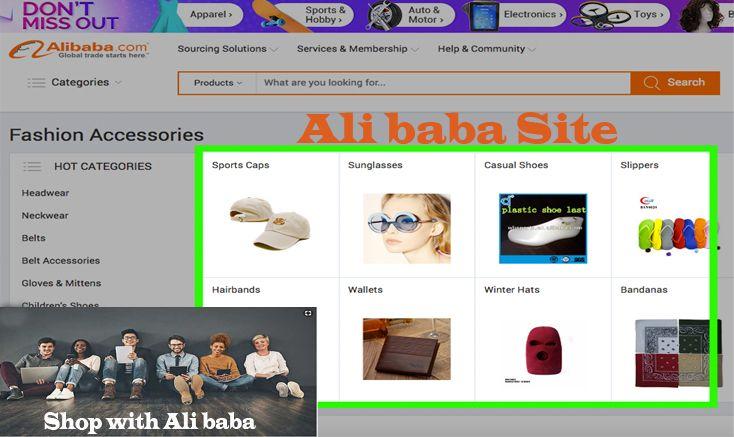 Ali Baba Site Access The Ali Baba Site Alibaba Website Amazon