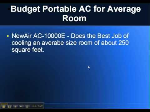 Portable Air Conditioner Reviews http://Portable.trureview.org Top 3 Brands of Portable Air Conditioners Best Portable AC For Small Room Best Brand is MobilC...