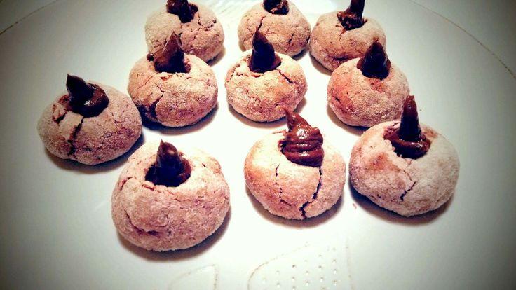 krehké vanilkovo malinové crinkles
