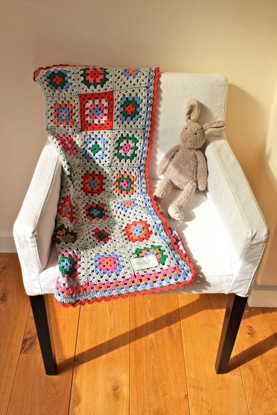 SALE 30 % HandMade Baby Crochet Blanket Full of Colors by MrMIZO
