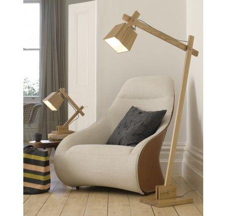 Norway Floor Lamp in Teak | Modern Lamps | Lamps | Lighting