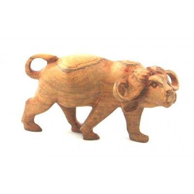 Buffalo Wooden Sculptured Art.