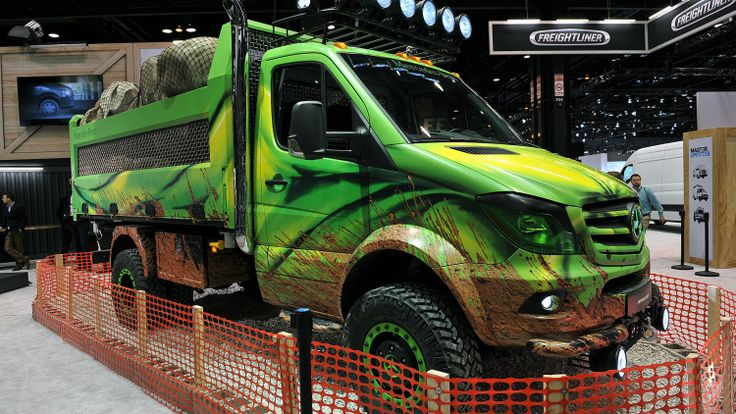 2017 Mercedes-Benz Sprinter Extreme Concept: Chicago 2016 Photo Gallery - Autoblog