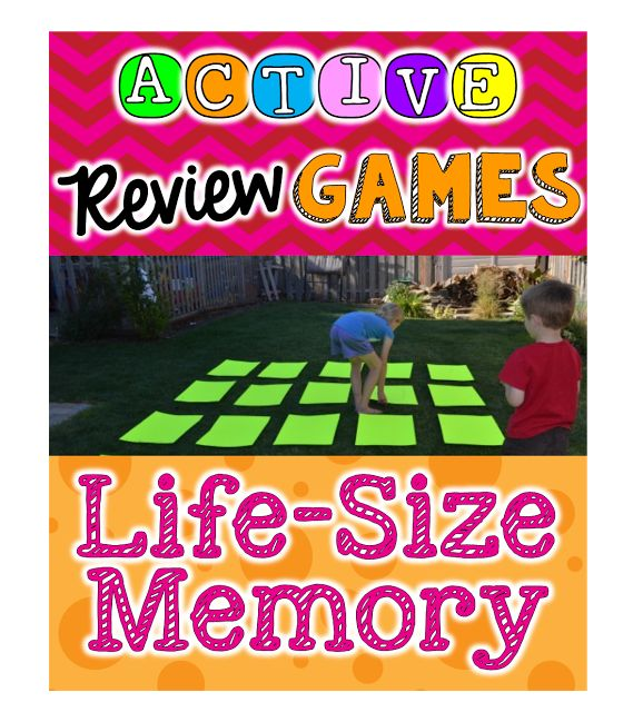 Using Active Review Games in the Classroom - One Stop Teacher Shop *Use heavy card stock so paper won't blow away.