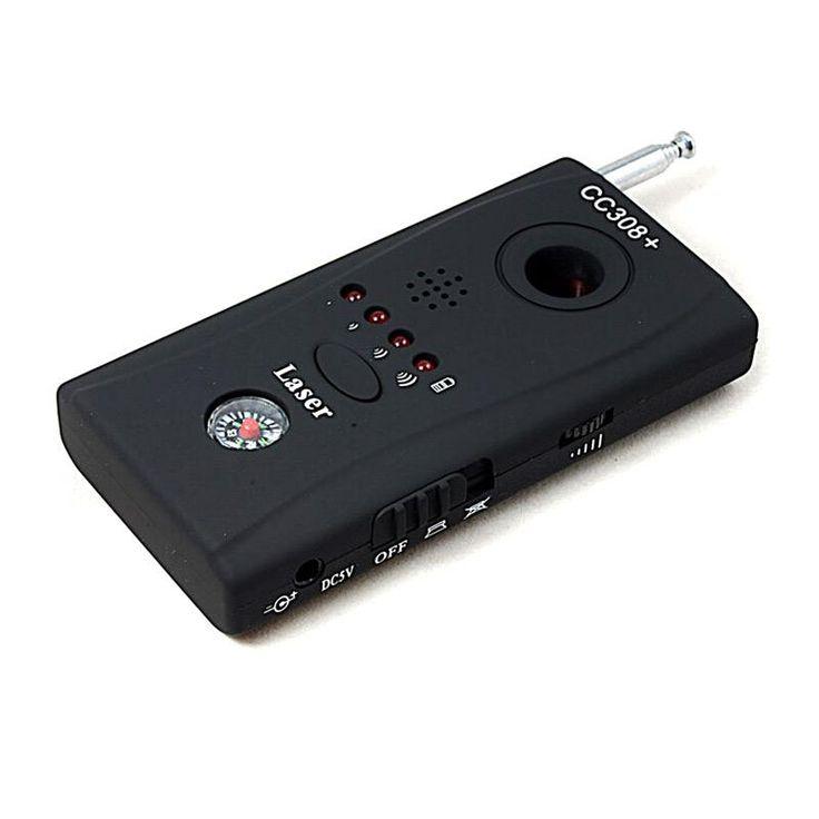 New Wireless Radio Wave Signal RF Camera GSM Device Audio Bug Finder GPS Signal Laser Lens RF Tracker Anti Spy Detector