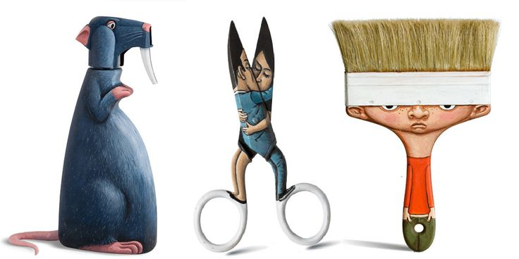 French Artist Turns Everyday Objects Into Playful Characters