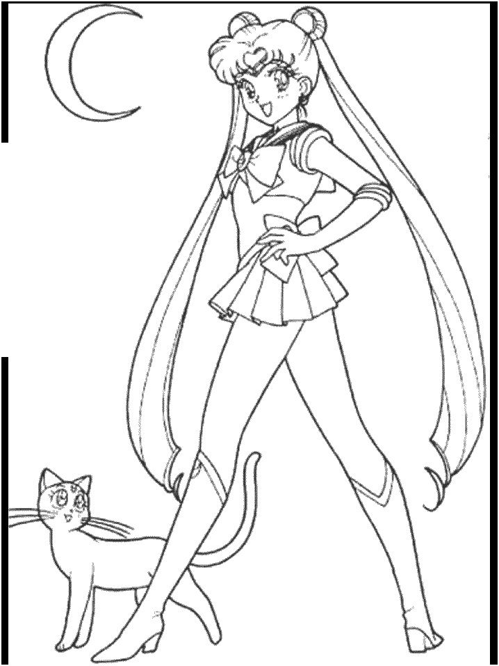 15 Genial Coloriage Sailor Moon Pictures Fond D Ecran Sailor Moon Coloriage Coloriage Manga