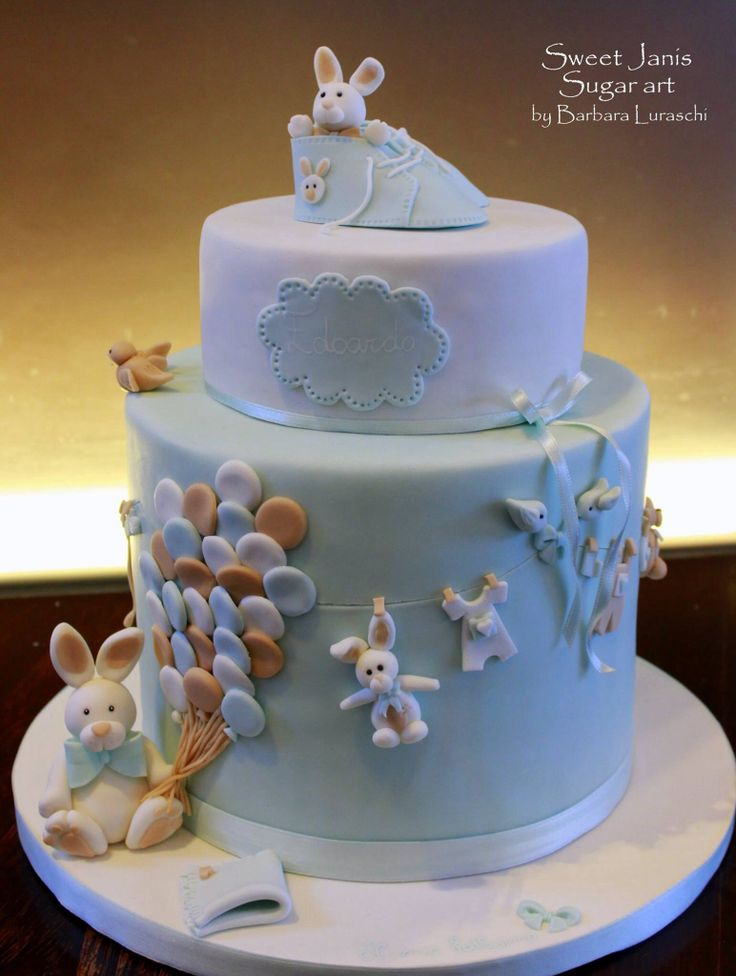 Christening cake by Barbara Luraschi