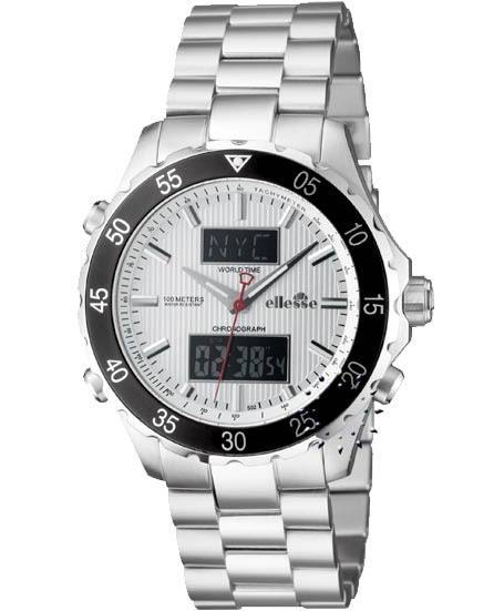 ELLESSE Performance P-1500 AN Chronograph AnaDigi, από 285€ τώρα μόνο 189€  Αγοράστε το εδώ: http://www.oroloi.gr/product_info.php?products_id=15455