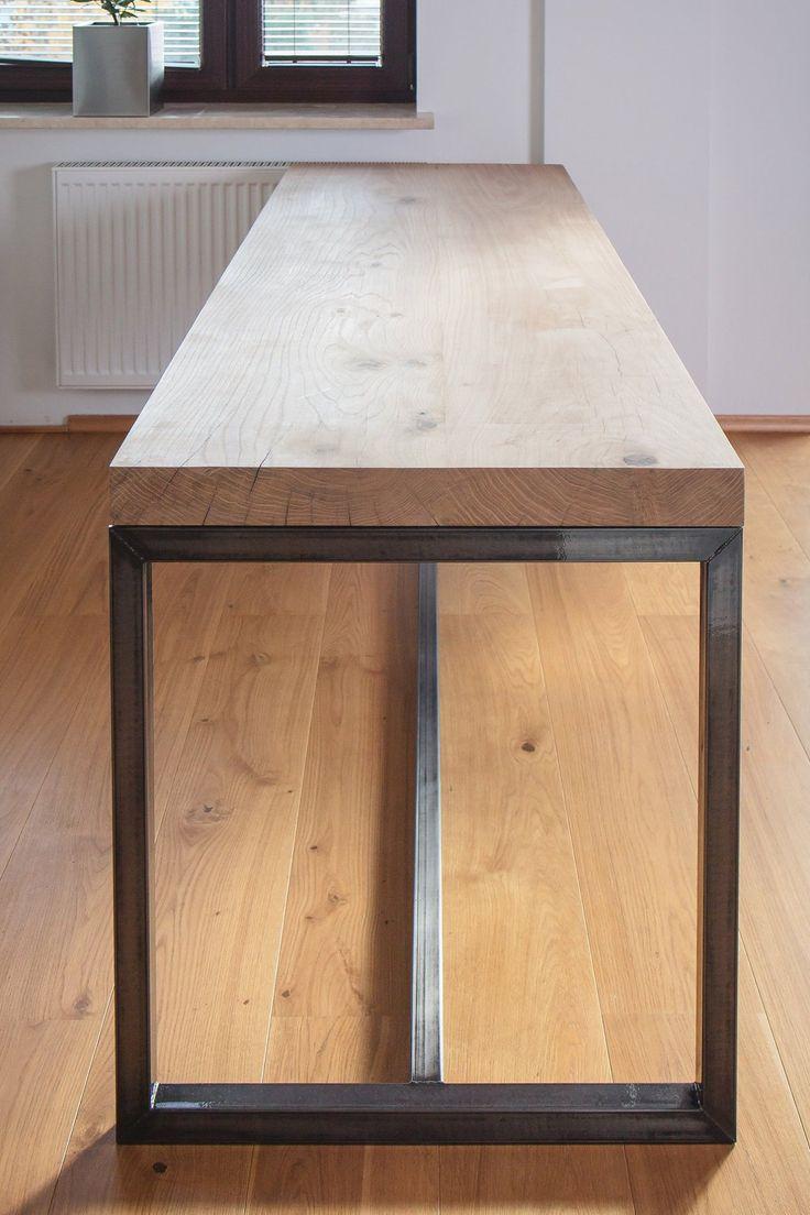 IN WOOD WE TRUST    https://www.facebook.com/inwoodwetrustpolska/    #oak #oaktable #table #woodtable #woodentable #woodenfurniture #design #diningtable #wooddesign #woodworking #woodporn #inwoodwetrust #kitchen #diningroom