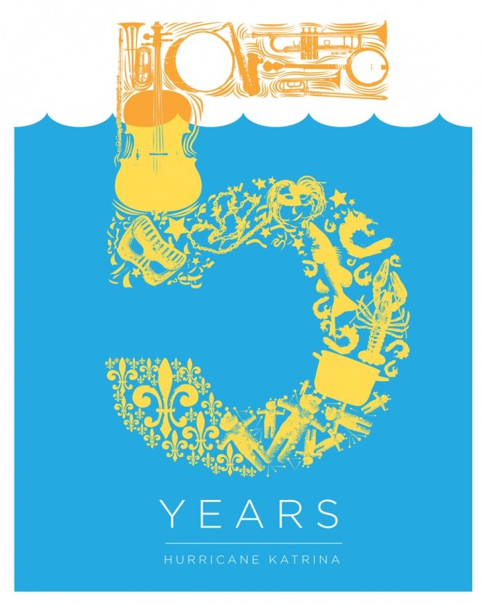 Hurricane Katrina 5 Year Anniversary Logo (USA)
