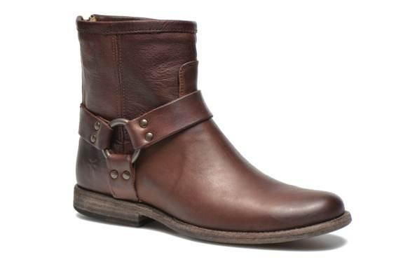 Bottines et boots Phillip Harness W Frye vue 3/4