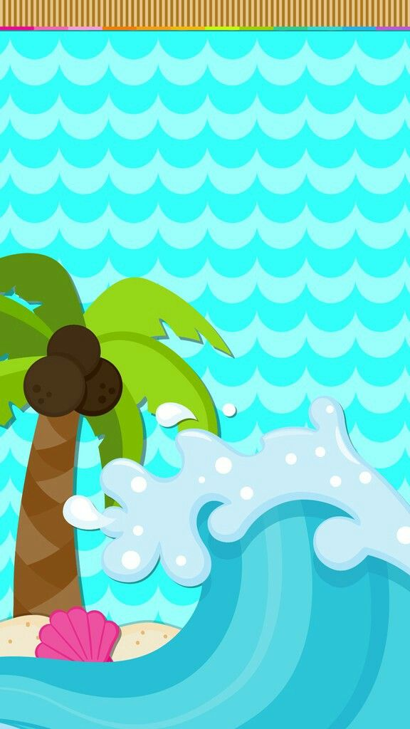 Beach palm wallpaper