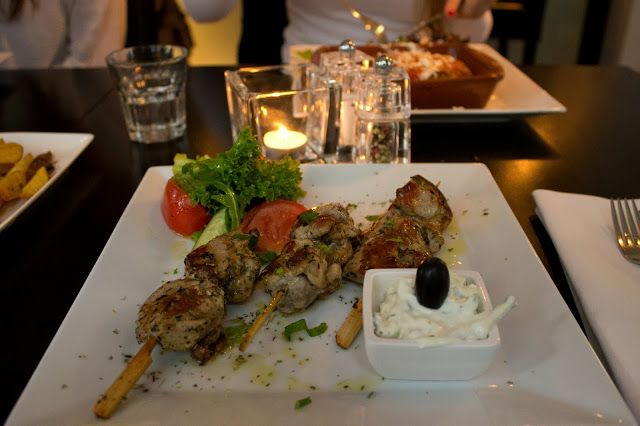 Greek food, Rhodos, Leiden