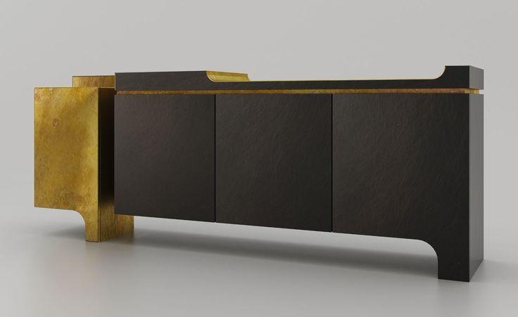 Brushed-up bronze: Design MVW present 'XiangSheng' at Galerie BSL, Paris