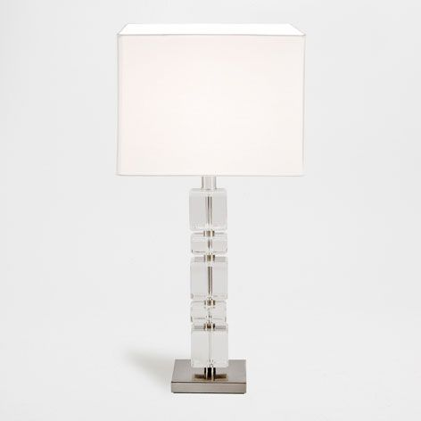 Glass Cubes Lamp - Lamps | Zara Home United Kingdom