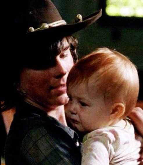 Carl and Judith Grimes  The WALKING DEAD: