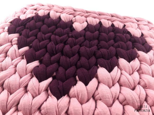 Corazón Tapestry trapillo