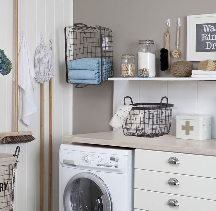 VIDEO: Laundry organising ideas from Tara Dennis and Command.