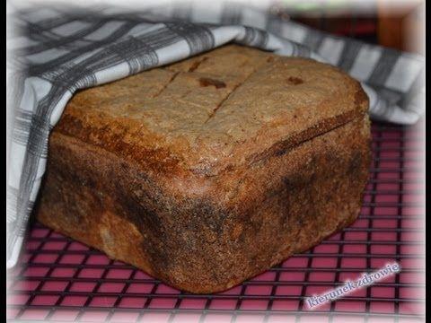 Chleb żytni na zakwasie - przepis na pyszny, domowy, zdrowy chlebek:-) /kierunekzdrowie - YouTube