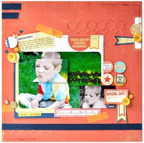 ES_Expresssions_LO_AH: Scrapbook Ideas, Heller Layout So, Crafts Ideas, Elle Studios, Digital Scrapbook, Amazing Layout, Scrapbook Layout, Amy Heller, Birthday Ideas