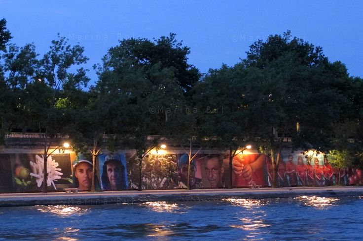 "PARIS : Exhibition ""Soul of Coffee"", a photographic fresco on the banks of the Seine, Quai des Tuileries/Quai Anatole France, opposite the Orsay museum, until September 30, 2013. #myvisionreza"