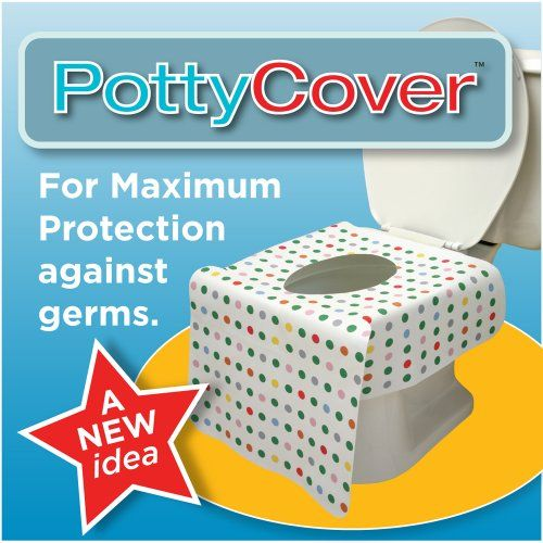 PottyCover - Disposable toilet seat covers. (6 individually packaged seat covers in each bag.) PottyCover,http://www.amazon.com/dp/B003JJX2IG/ref=cm_sw_r_pi_dp_V.JTsb16X6PFPTPB
