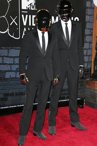 Daft Punk....a guy in a suit is GREAT anytime...even without a face...lol