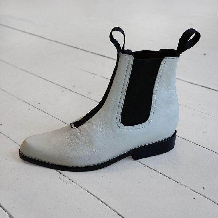 MIKHAIL - western style ankle boot #bohostyle #prestonzlydesign #handmadeshoes