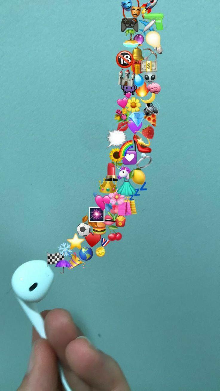 Pin By 3xrl6 On إيموجي Emoji Iphone Wallpaper Pinterest Artsy Wallpaper Iphone Emoji Wallpaper