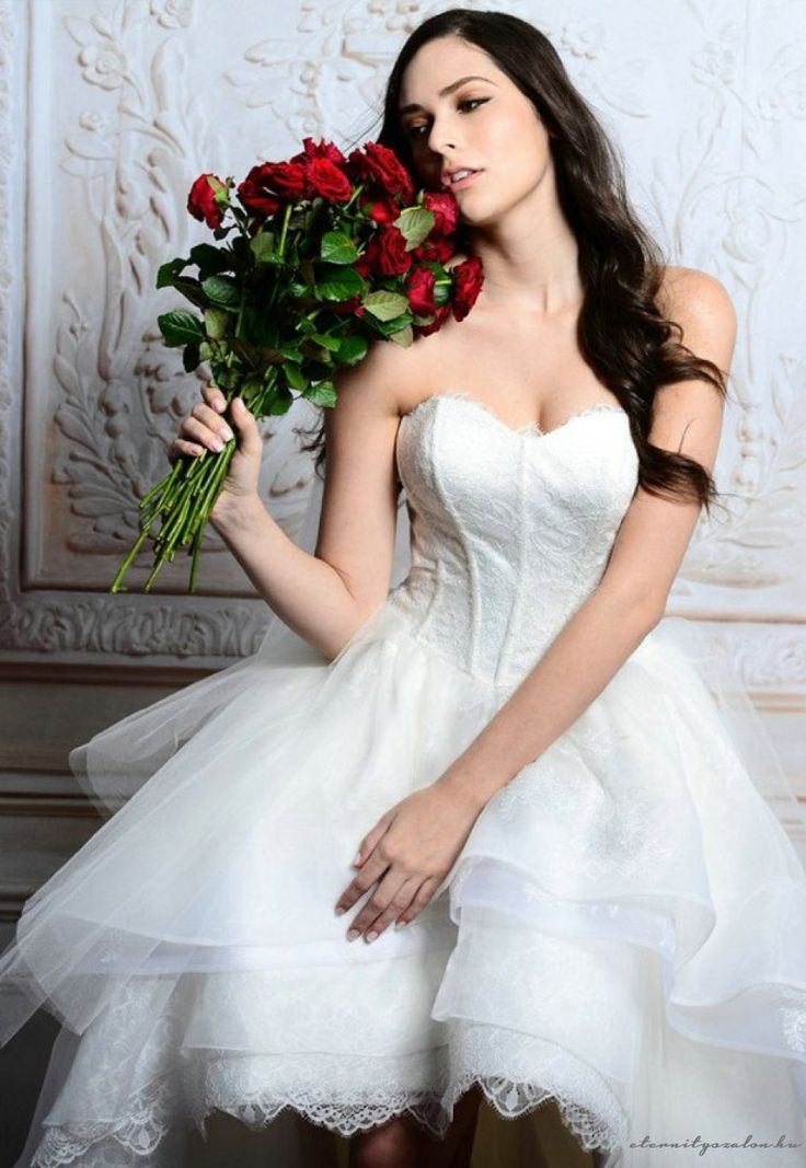 Carla short esküvői ruha