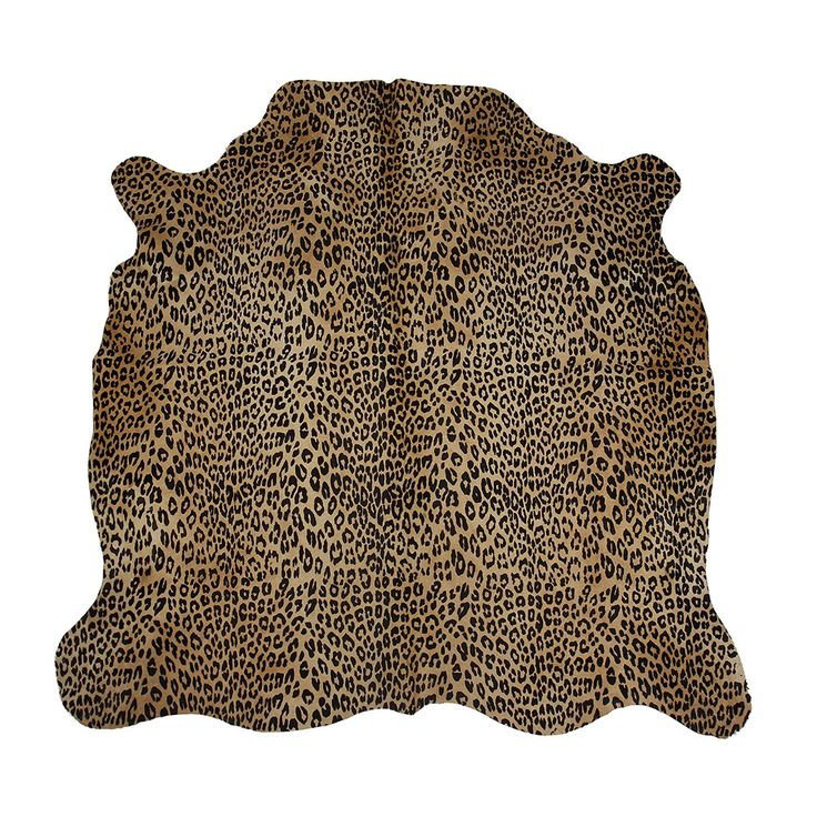 Discover The Amara Panther Printed Cow Skin Rug At Www