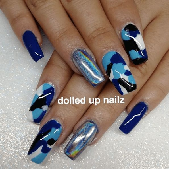 Camouflage Nail Designs 18 - The 25+ Best Camouflage Nails Ideas On Pinterest Camo Nails