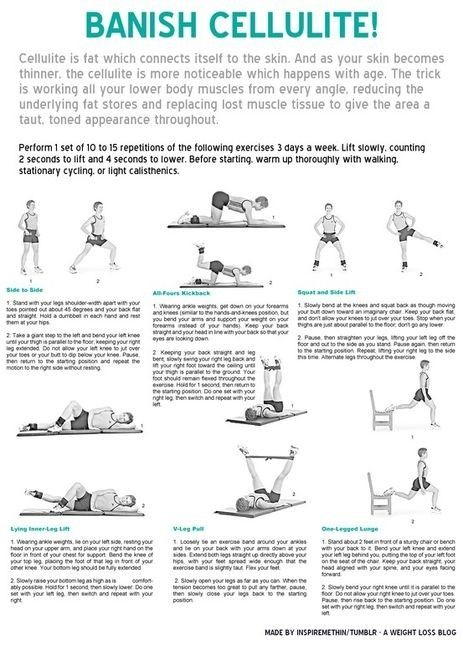 more cellulite exercises by StarMeKitten