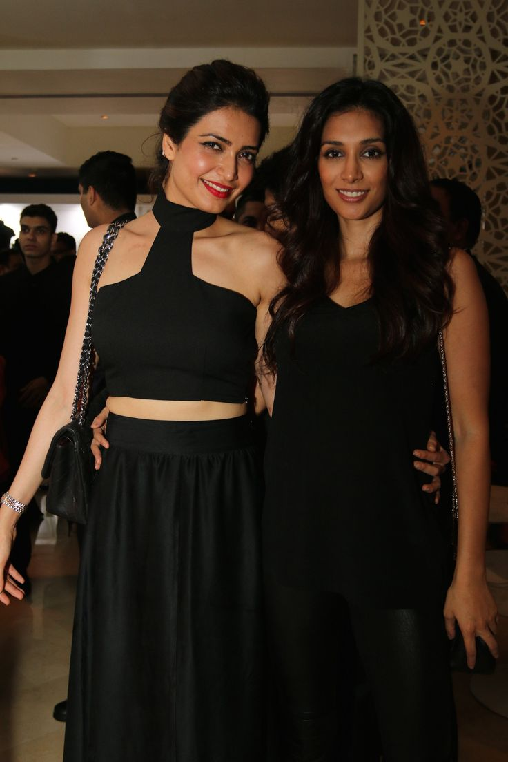 Karishma Tanna & Preeti Desai at Bare in Black Launch.