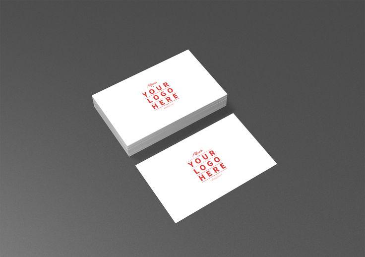 Alfreedo free stuff - Mockup - Business Card 01 - Identity, 3d, Mockup, Business card, Stefano marvulli