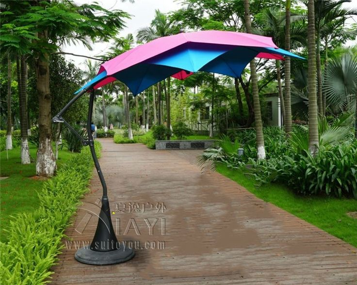 2190.00$  Watch here - http://aliuzf.worldwells.pw/go.php?t=32735196058 - 3 meter 10 ribs Lotos patio hanging sun umbrella garden parasol sunshade outdoor furniture cover (no base ) 2190.00$