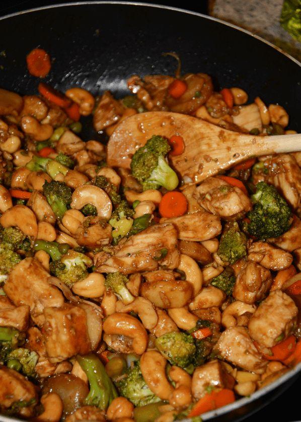 CROCK POT CASHEW CHICKEN RECIPE – Easy Recipes