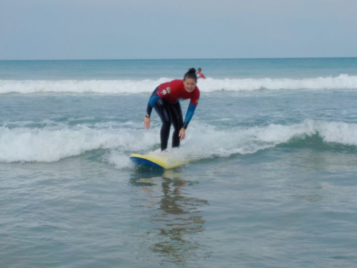 Sarah Loughlin travels to Cornwall in the sunny South-West of England to try her hand at surfing for the first time. 'Pete....Pete.... Pst, Pete' 'What' 'I think I've been stung by a weaver fish' '...