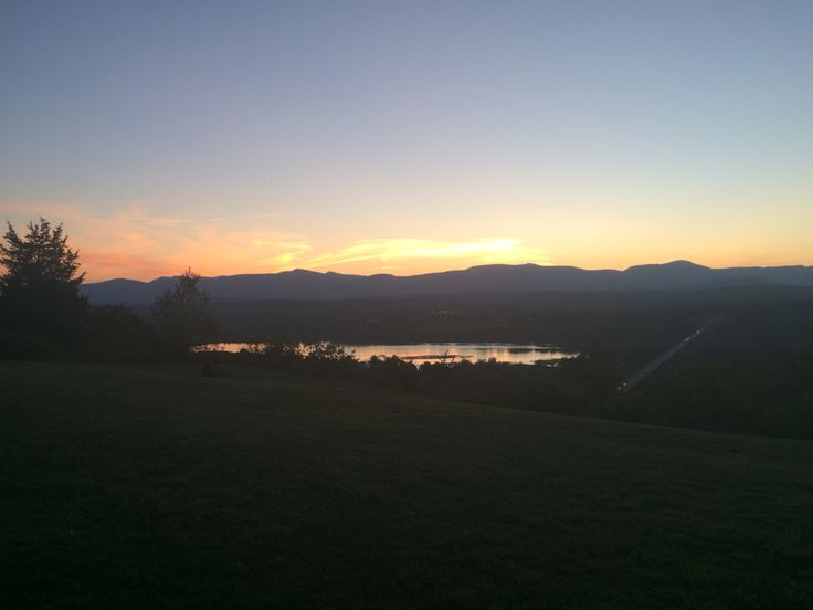 Twilight in the Catskills. So nice!
