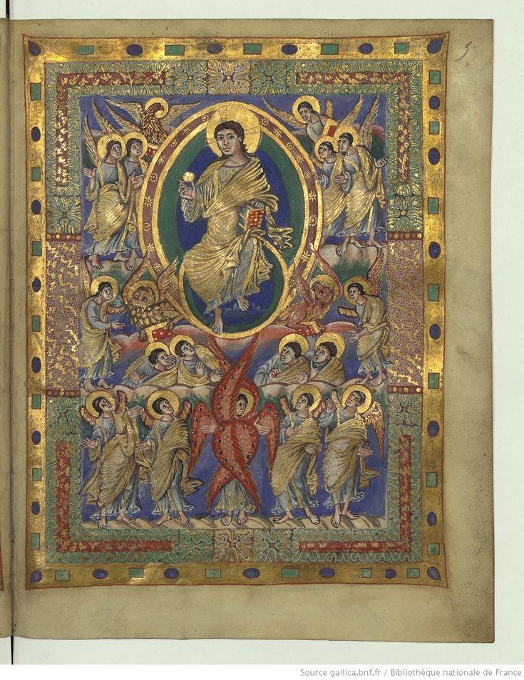 Sacramentarium [Sacramentaire de Charles le Chauve (?), frg.].   Gallica