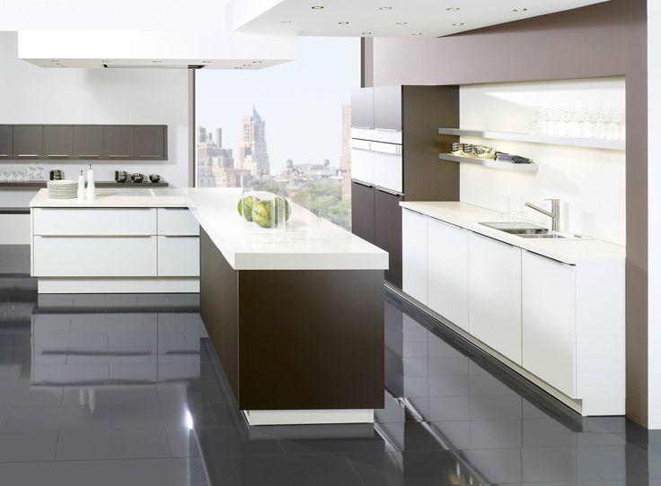 Přes 1000 nápadů na téma Neue Küchenfronten na Pinterestu - küche mit dachschräge planen